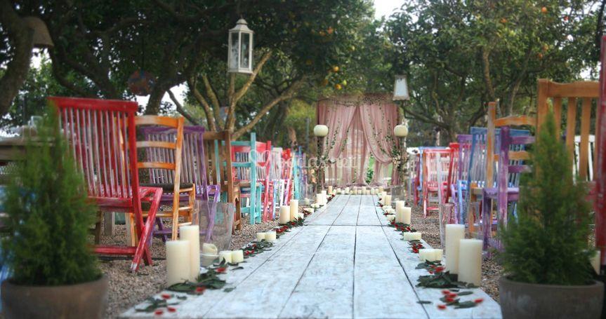 Hacia el altar