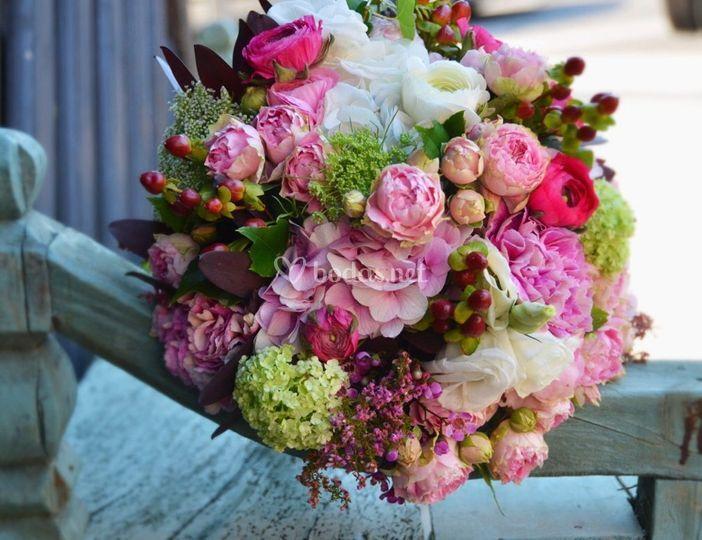Ramo decoración floral