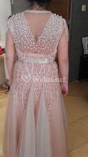 Vestido de novia muy especial