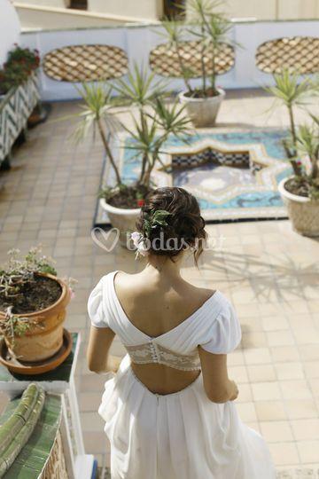 Boda romántica en Sitges