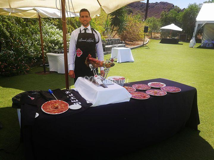 David Moreno - Cortador de jamón