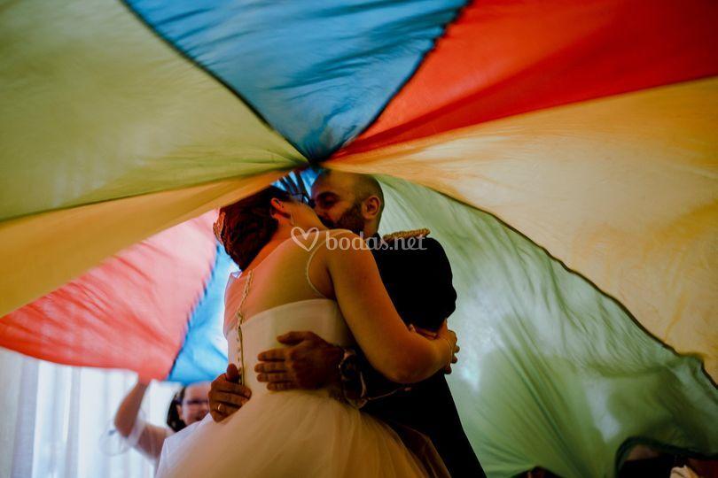 Vuelos, besos, colores