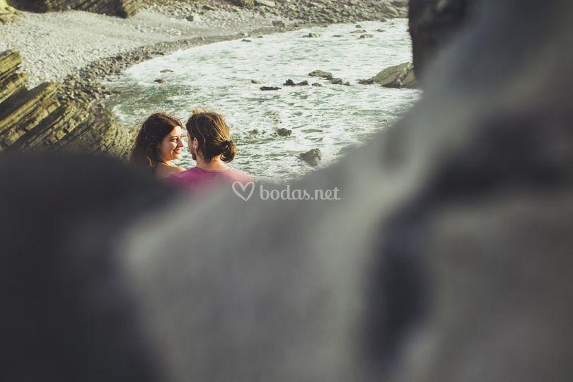 Esther, Ernest y el mar