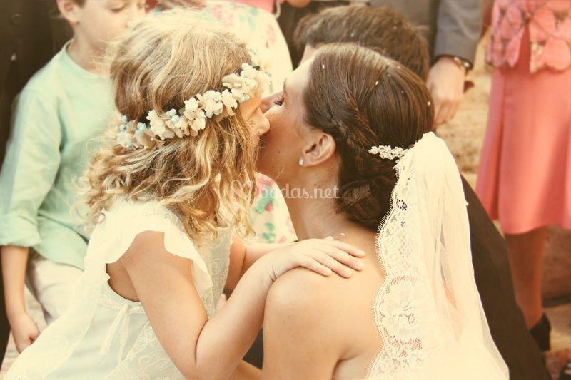 El beso de la novia