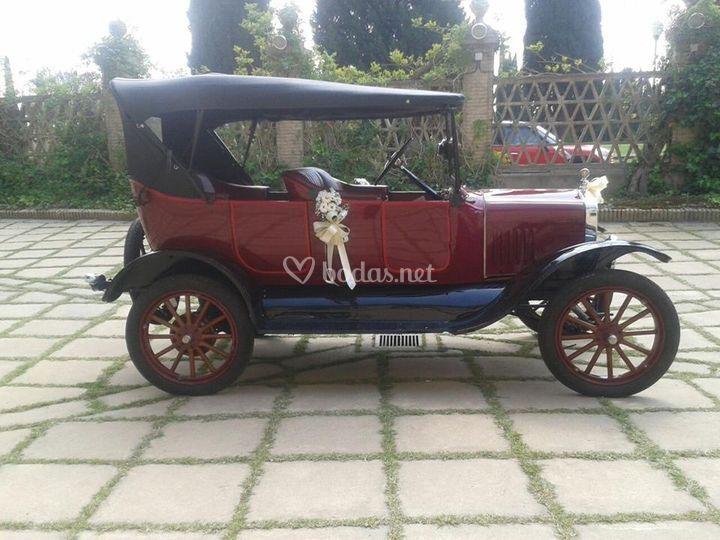 Ford T de 1923, restaurado