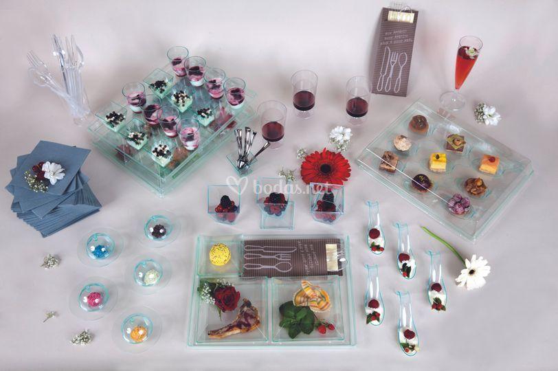 Miniaturas para catering