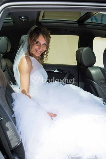 Dentro del coche