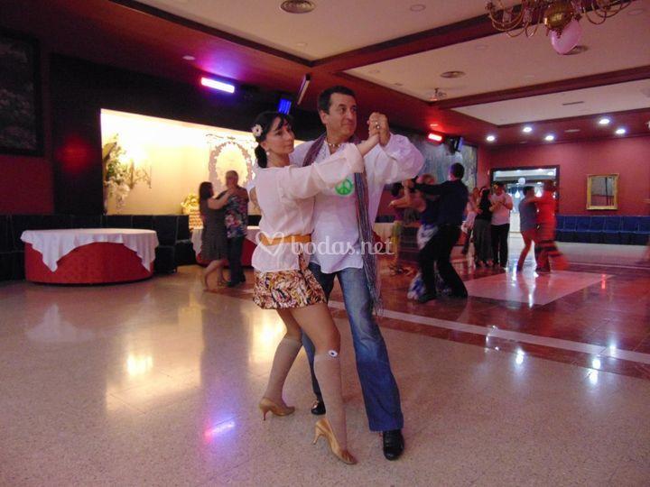 Baile y actuación