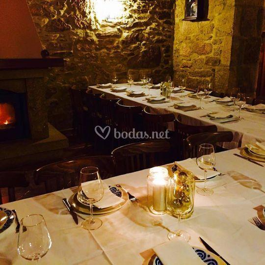 Banquete romántico
