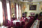 Salón montado para banquete