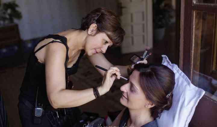 Maquillaje suave de novia