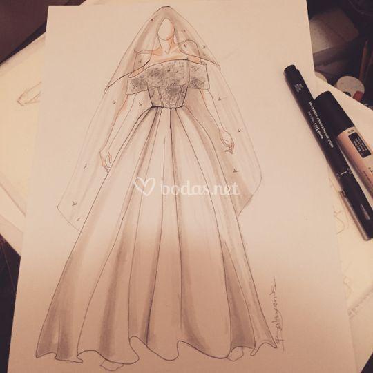 Diseño de la novia