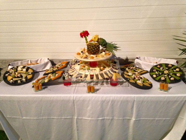Mesas de comida