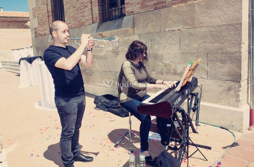 Trompeta y piano