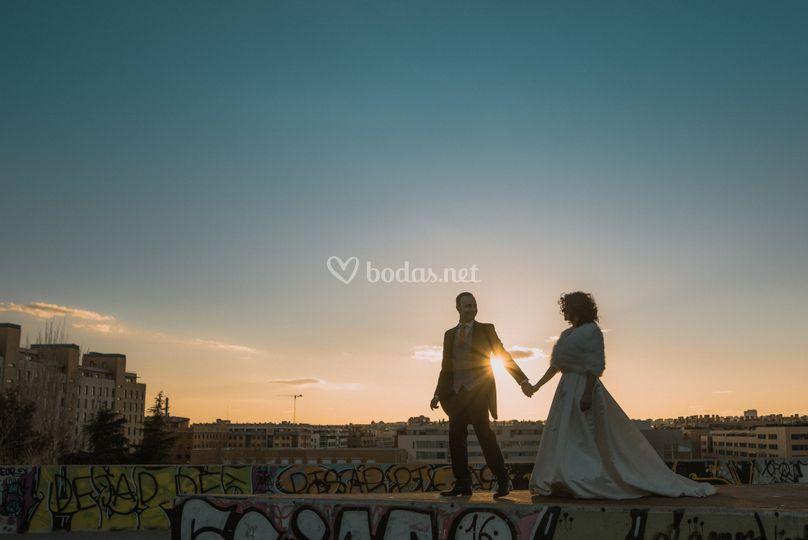 Siluetas - Postboda