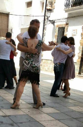 Tango en la calle