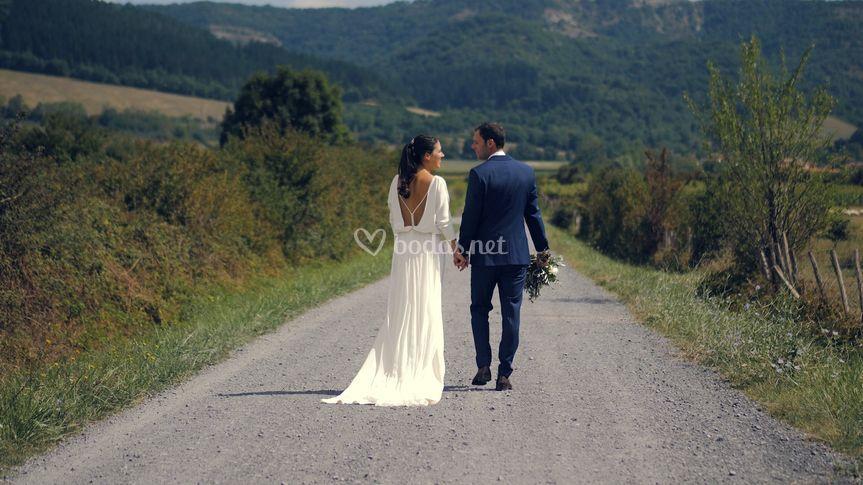 Caminando en pareja