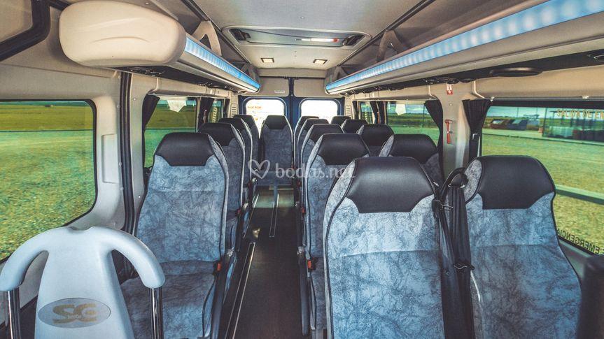 Interior Autocars Gamon 10