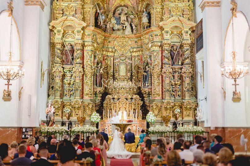 Una iglesia increíble