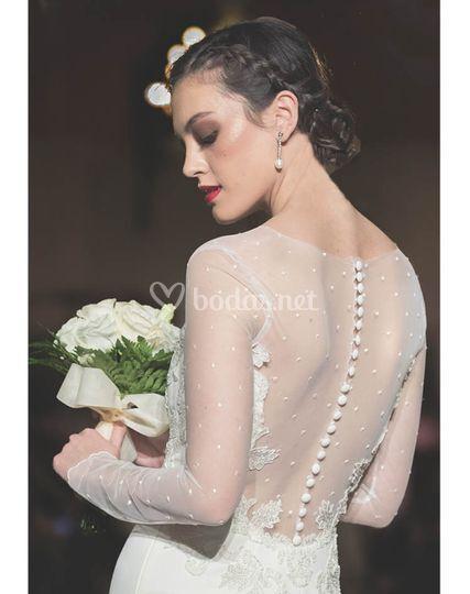vestido angel espalda de dolores costura | fotos
