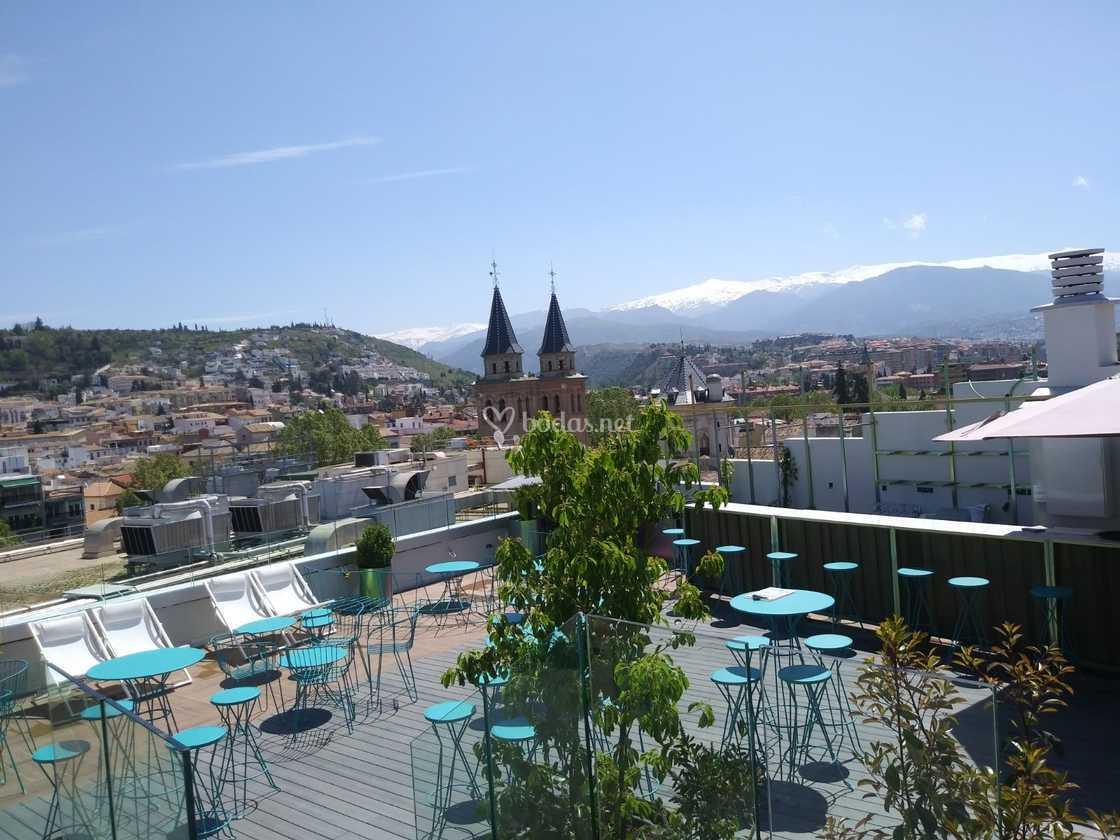 Terraza Bheaven Granada De Barceló Carmen Granada Foto 14