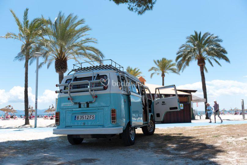 VW Bulli en Mallorca