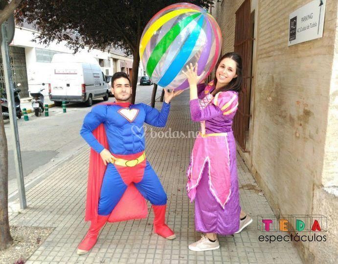 Animadores superhéroe