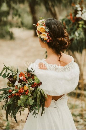 Enamorados de las flores