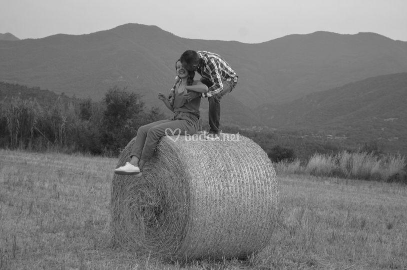 Preboda en el campo