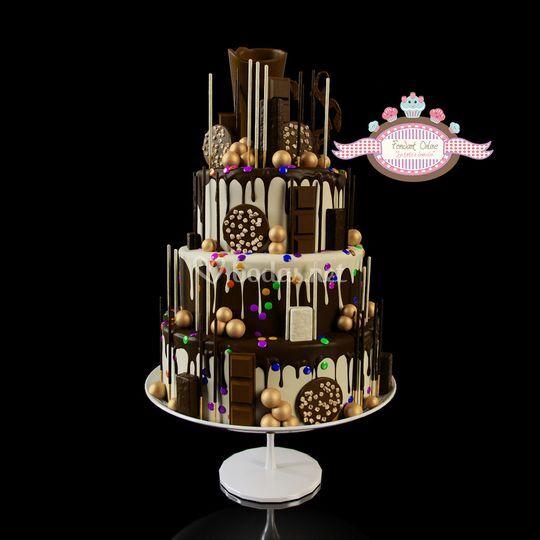 Tarta Drip Cake