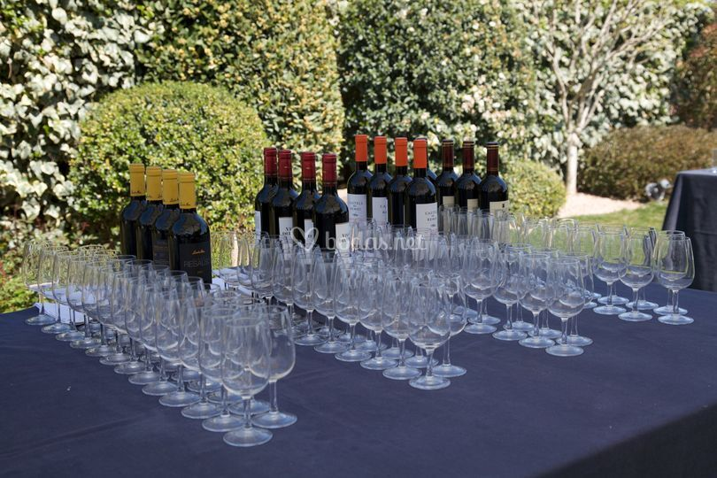 Bufet vinos