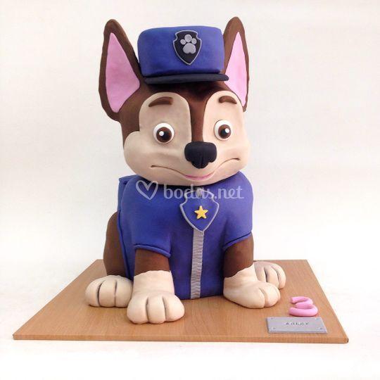 Chase - Paw Patrol Cake