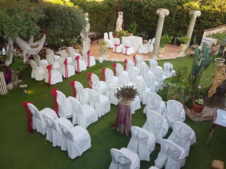 Jardín/Ceremonia