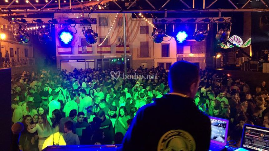 DJ's en vivo