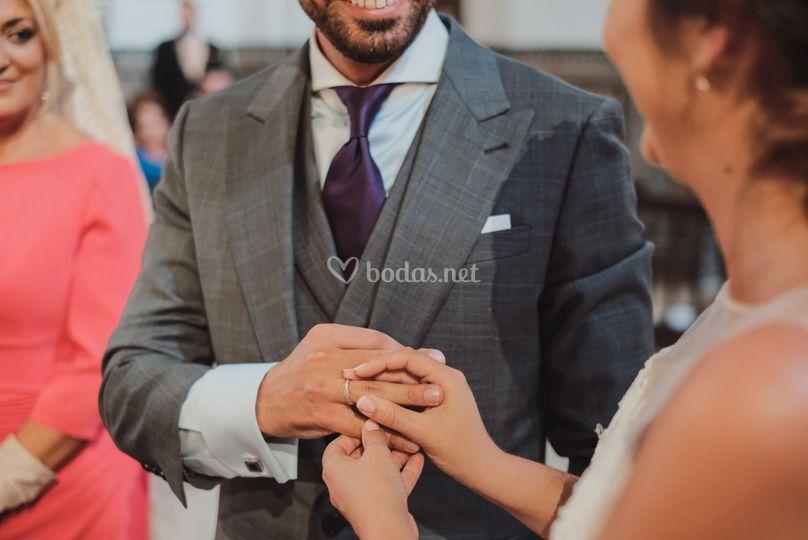 Enlace alianzas de boda