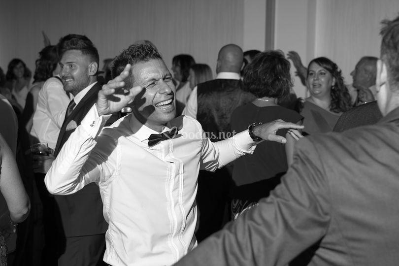 Bailando en la fiesta