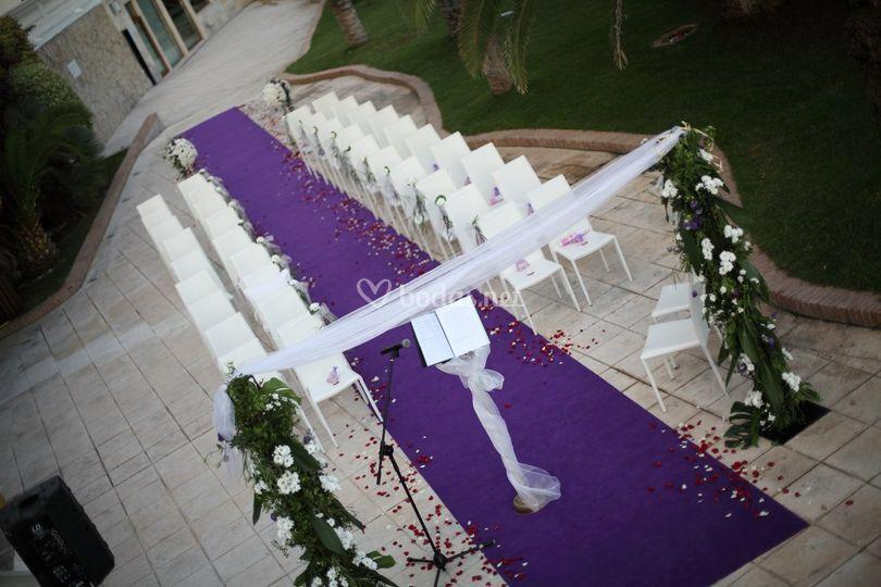 Ceremonia - Terraza Palmeral