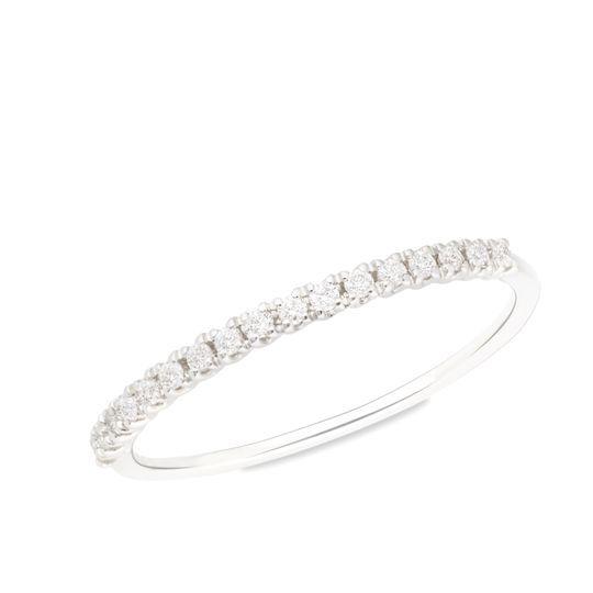 O. blanco 18kts c/ diamantes