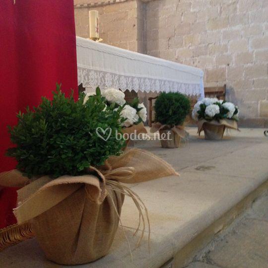 Altar Monasterio Irache