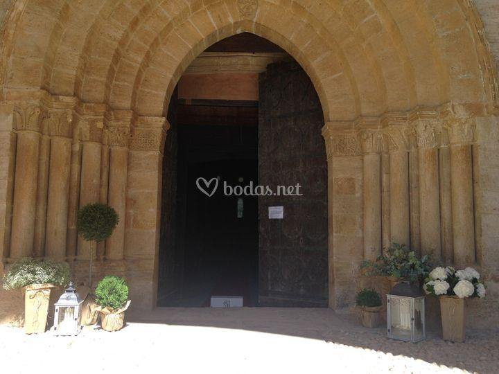 Entrada Monasterio de Irache