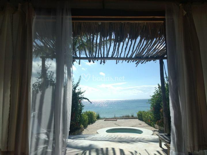 Hotel en zanzibar playa