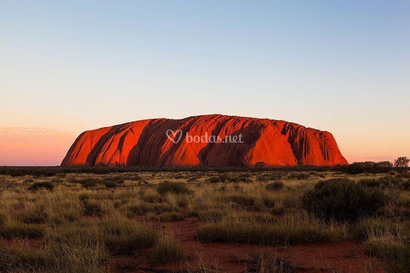 Ayers Rock,Australia