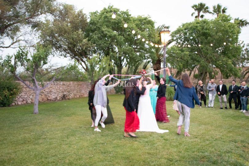 Lazos ramo de novia 2109