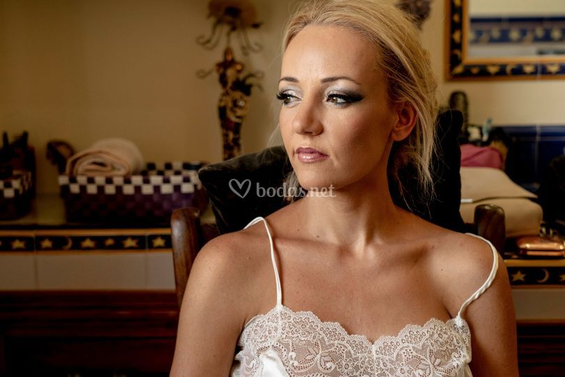 Preparativo novia