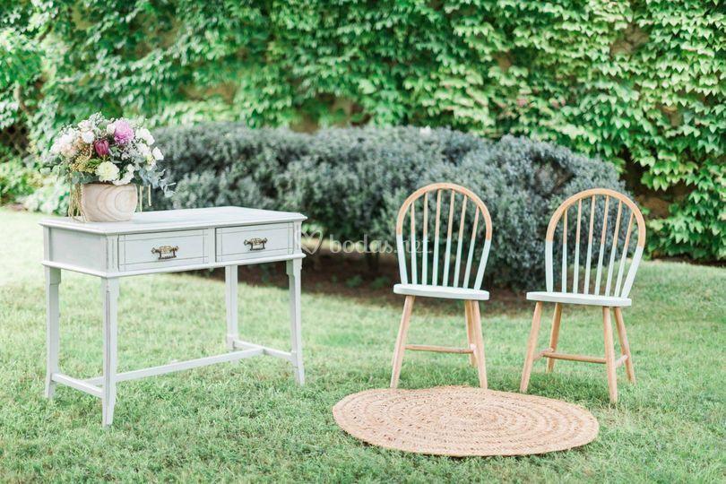 Altar boda al aire libre