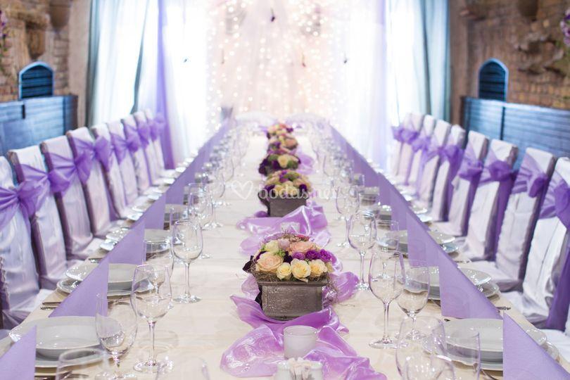 Inspiración en lila