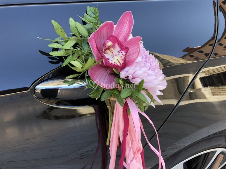 Adorno floral orquidea