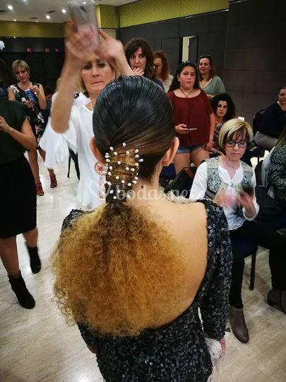 Peinado invitada