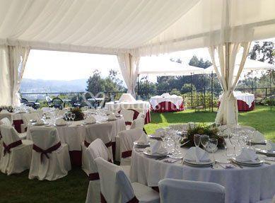Banquetes en jardín