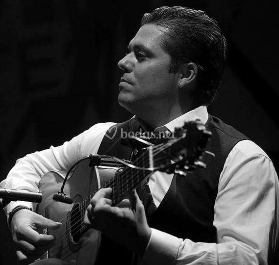 Guitarrista clásico-flamenco